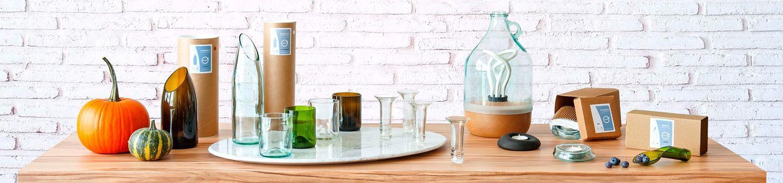 tienda online lucirmas vidrio reciclado barcelona