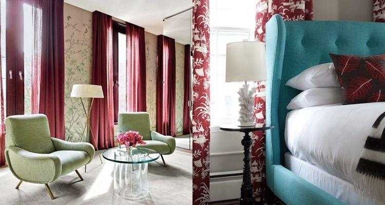 C mo utilizar el color marsala en decoraci n casa for Catalogo de casa decoracion