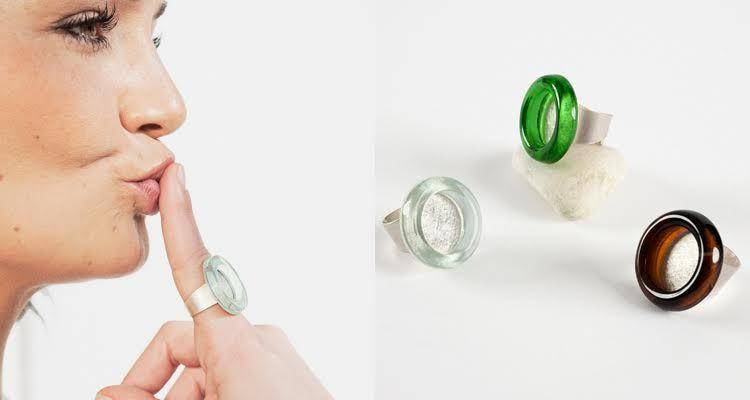 joyas artesanales de vidrio
