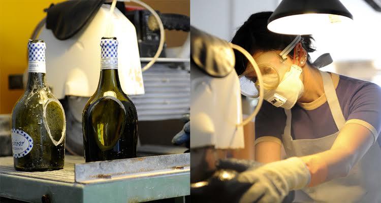 fabricación nino lucirmás artesanía en vidrio