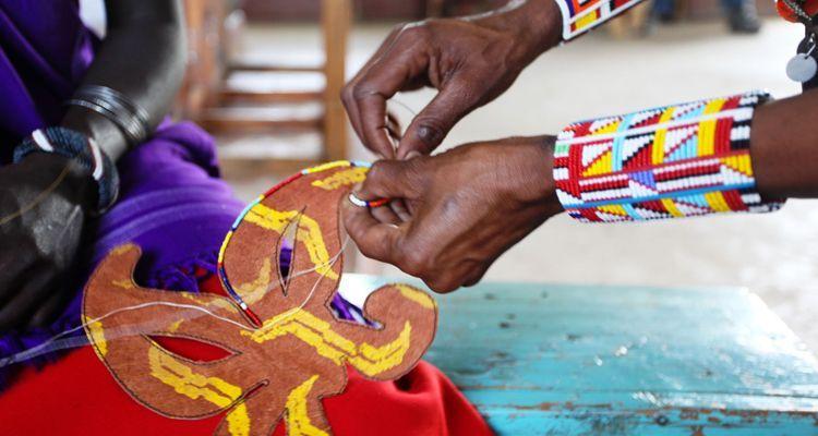artesanía en vidrio lucirmás proyecto solidario