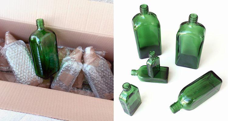 convertir botellas de vidrio de jagermaister