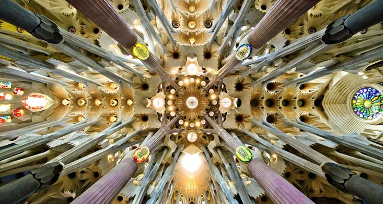 Sagrada_Familia_ vegetable modernism motifs