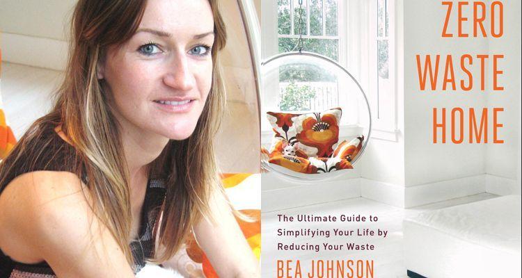 Bea Jonson and book Zerowaste