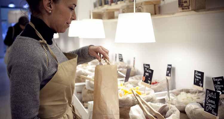 comprar productos a granel vivir sin plástico