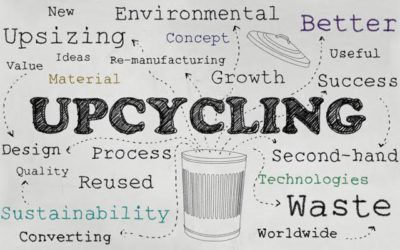 What is the difference between upcycling and recycling?