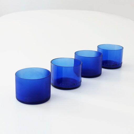Blue Accent set de vasos lucirmás