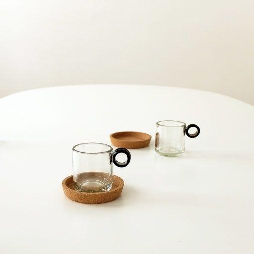 MokaCup Juego de 2 tazas artesanal lucirmás